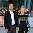 """""""Joshua Jackson et Diane Kruger à la première du film  Inescapable  au Festival International du Film de Toronto le 11 septembre 2012."""""""