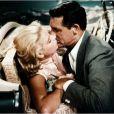 Grace Kelly et Cary Grant dans  La Main au collet  d'Alfred Hitchcock, 1955.