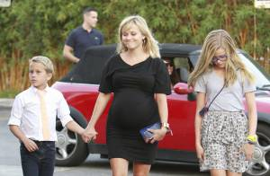 Reese Witherspoon, enceinte et radieuse : Sa fille Ava a beaucoup grandi
