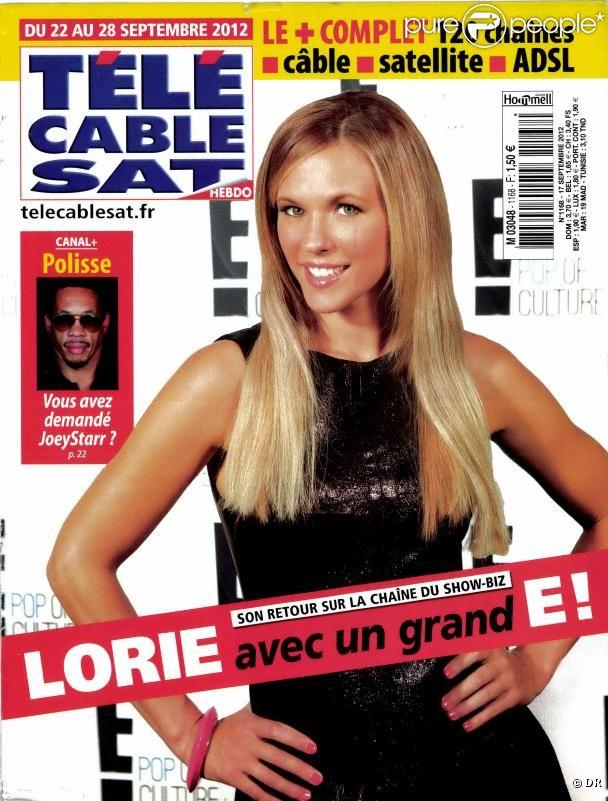 Lorie revient sur l 39 chec de l 39 album dita 39 la maison de - Tele cable sat ...