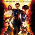 Chris Evans dans  Captain America  (2011) de Joe Johnston.
