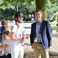 Le prince Frederik de Danmark à Londres lors des Jeux paralympiques le 4 septembre 2012