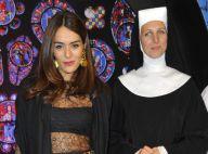 Sister Act : Sofia Essaïdi et Charles Aznavour dans les bras de Whoopi Goldberg