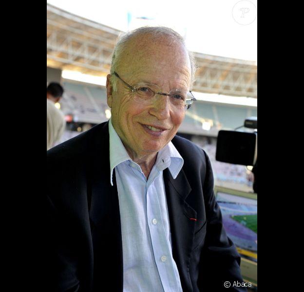 Thierry Roland, le 28 juillet 2010 en Tunisie.