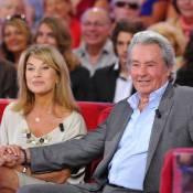 Nicole Calfan et Alain Delon : ''Entre Alain et moi, c'est de l'amour-respect''