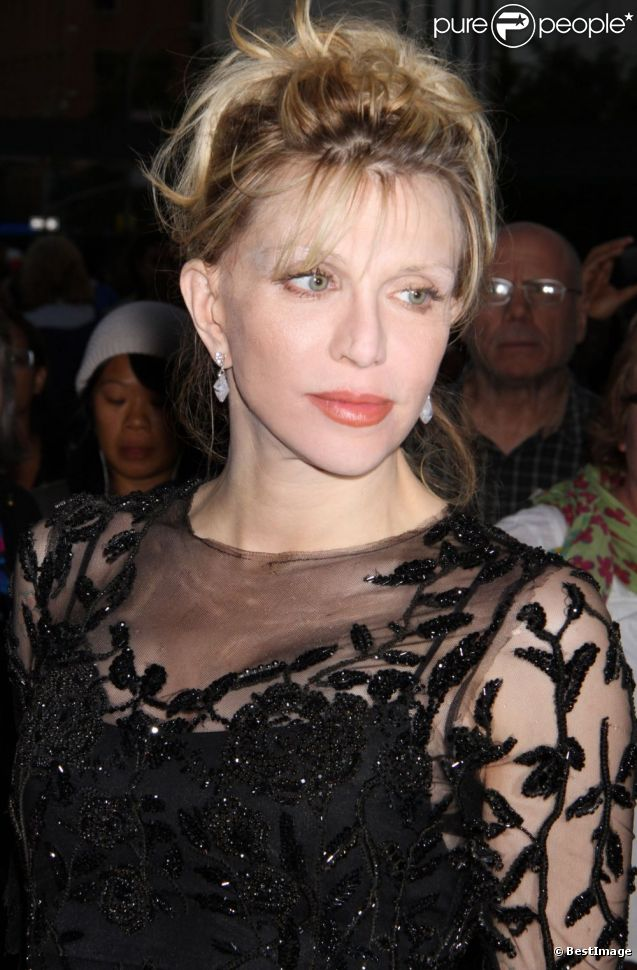 Courtney Love à la soirée de gala Metropolitan Opera Opening Night à New York, le 24 Septembre 2012.