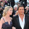 Dany Brillant et son épouse Nathalie à Cannes, le 14 mai 2010.