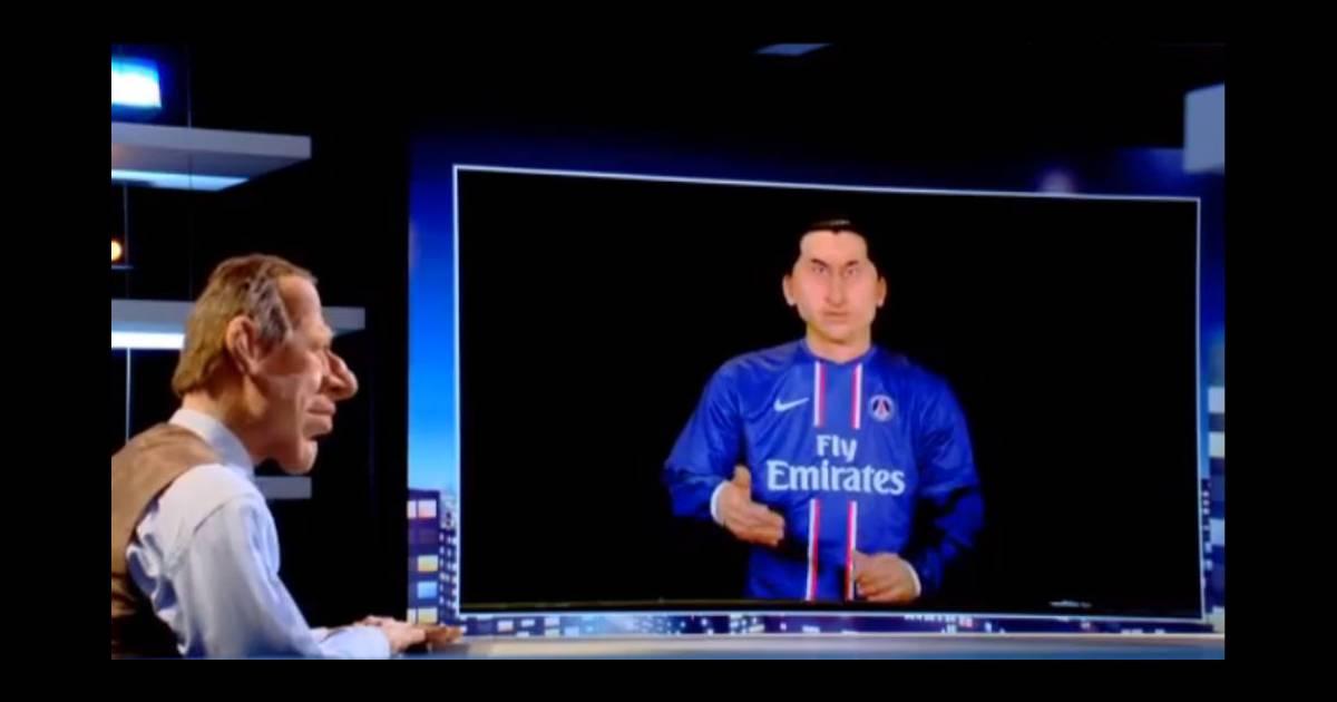 Zlatan rencontre sa marionnette guignol