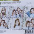 Les princesses Catharina-Amalia, Alexia et Ariane ont servi de modèles pour les timbres caritatifs 2012.   Le prince Willem-Alexander des Pays-Bas lançait le 25 septembre 2012 l'opération Kinderpostzegels (les timbres pour les enfants).