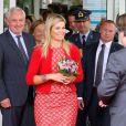 La princesse Maxima inaugurant la nouvelle maternité de Veldhoven, le 20 septembre 2012