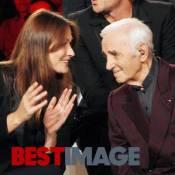 Carla Bruni : Entourée des plus grands artistes pour Charles Aznavour