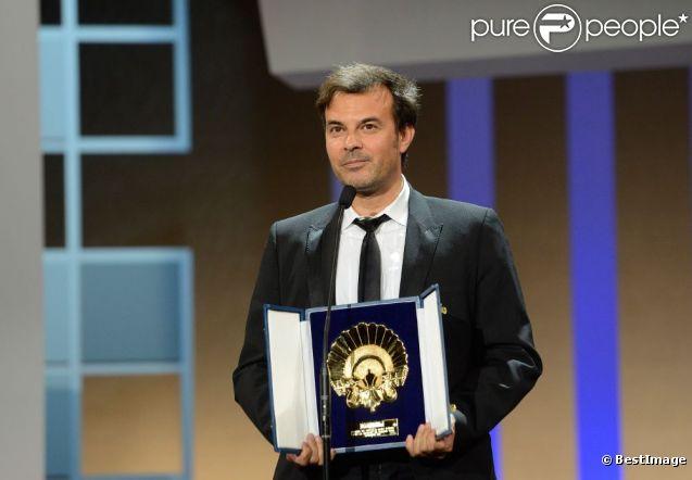 Le réalisateur Francois Ozon a reçu le Coquillage d'or pour  Dans la maison  au festival du film de San Sebastian, le 29 septembre 2012.