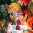 L'actrice January Jones, son fils Xander et sa mère Karen, faisant du shopping à Silver Lake, le samedi 30 septembre.