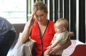 Hilary Duff : Premier jour de crèche pour le petit Luca, 6 mois