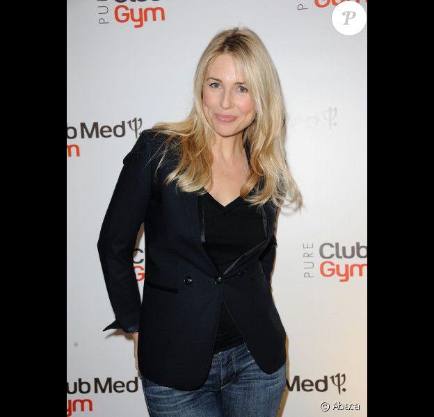 La belle Anne-Charlotte Pontabry alias Cachou à la soirée d'ouverture du Pure Club Med Gym Bastille, à Paris, le 7 juin 2012