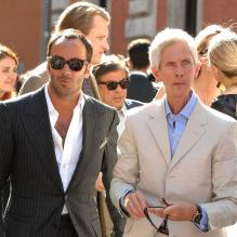 Tom Ford et Richard Buckley en 2007. Le couple a accueilli le 23 septembre 2012 un petit Alexander.