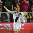 David Beckham lors du match de MLS entre le Los Angeles Galaxy et le Real Salt Lake au Home Depot Center de Carson à Los Angeles le 6 octobre 2012