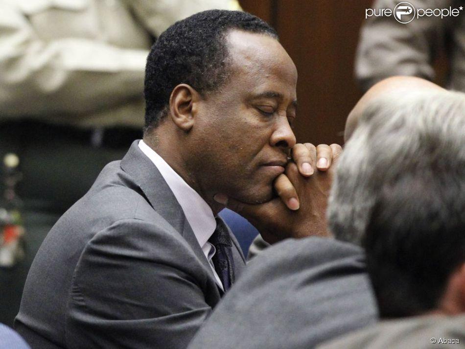 Conrad Murray au tribunal, à Los Angeles, le 29 novembre 2012.