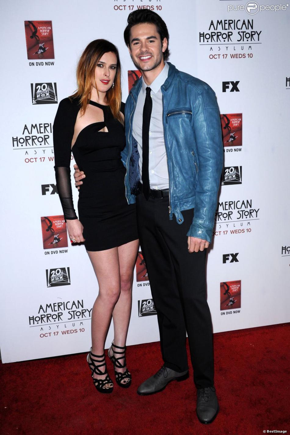 Rumeur Willis et son compagnon Jayson Blair à la première de la saison 2 de la série  American Horror Story  à Los Angeles, le 13 octobre 2012.