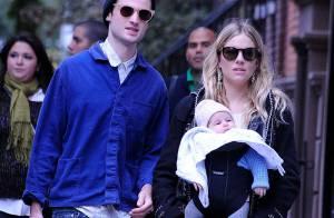 Sienna Miller : Maman lookée et amoureuse du côté de New York