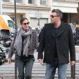 Jennifer Garner et Ben Affleck en amoureux à Paris, le 15 octobre 2012