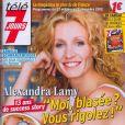 Alexandra Lamy en couverture de Télé 7 Jours le 22 octobre 2012