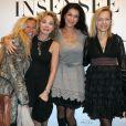 Exclusif - Fiona Gélin, Grâce de Capitani , Jovanka Sopalovic et Gabrielle Lazure assistent à l'inauguration de la boutique de lingerie Insensee à Paris, le 18 Octobre 2012.