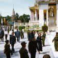 Image d'archives de l'ancien roi du Cambodge Norodom Sihanouk, décédé le 15 octobre 2012 à Pékin à 89 ans et rapatrié le 17 à Pnomh Penh, au Cambodge, où un deuil national a été décrété.
