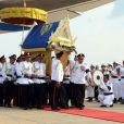 Cortège funèbre du roi-père Norodom Sihanouk à Phnom Penh le 17 octobre 2012