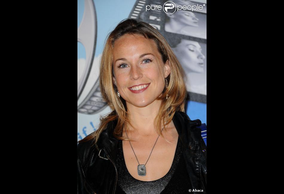 Aurélie Vaneck en mars 2012 à Boulogne