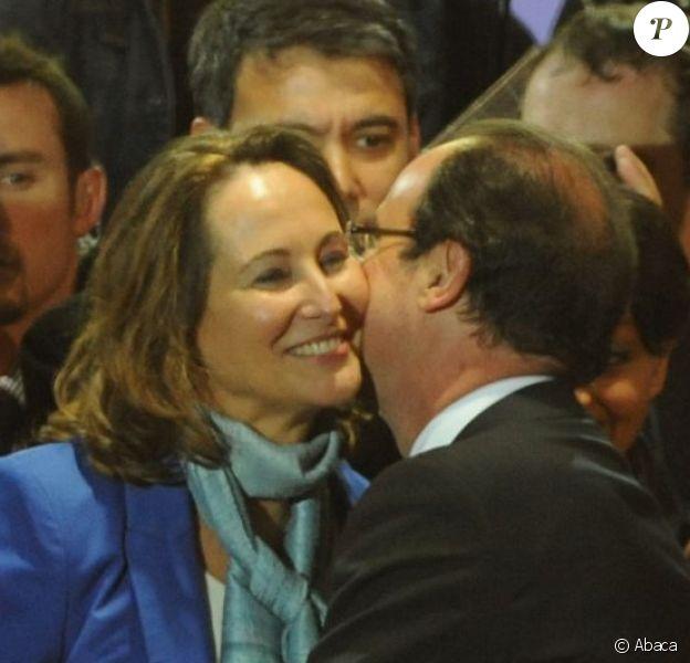 François Hollande et Segolène Royal à Paris, le 6 mai 2012.