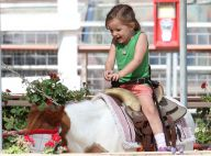 Jennifer Garner : Seraphina, à croquer, s'amuse à dos de poney