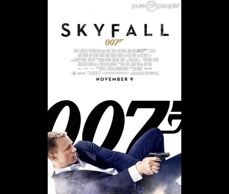 Affiche du film Skyfall de Sam Mendes