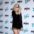 La chanteuse Kesha présente la dernière-née de sa marque de montres Baby-G (Casio), le lundi 29 octobre 2012 à Los Angeles.