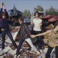 Le groupe Téléphone en novembre 1977.