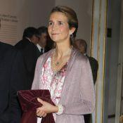 Elena d'Espagne chic fan des Beaux-Arts, Cristina et Iñaki discrets à Barcelone