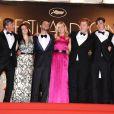 L'équipe du film On the road avec Kristen Stewart au Festival de Cannes le 23 mai 2012.