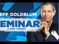 Jeff Goldblum : Sa fidèle harceleuse ne le lâche pas, même en plein 'Seminar'