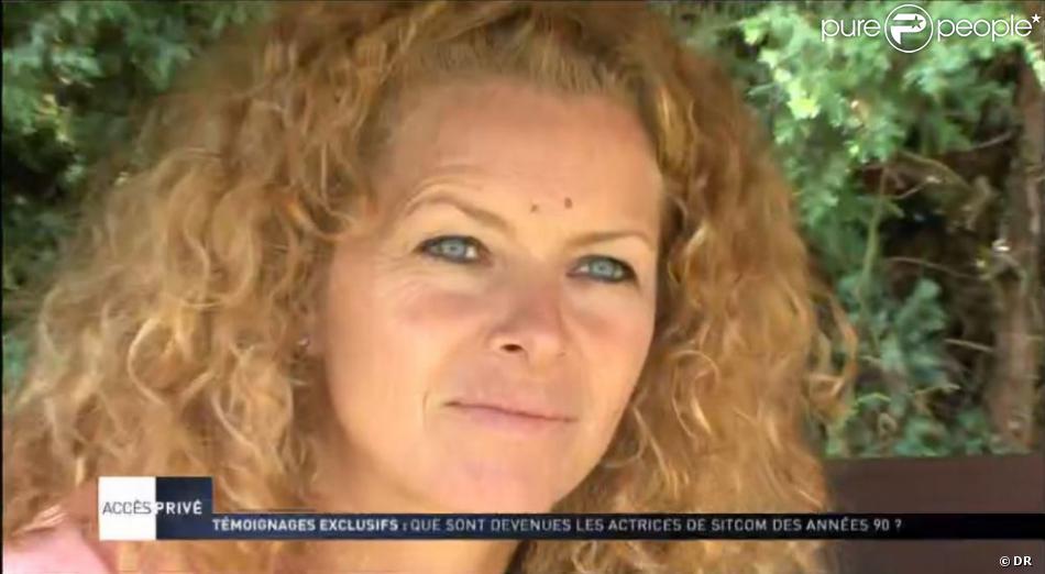 Manuela Lopez, 40 ans, dans le reportage d'Accès Privé sur M6 le samedi 3 novembre 2012