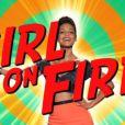 Image extraite du clip  Girl On Fire  d'Alicia Keys, octobre 2012.