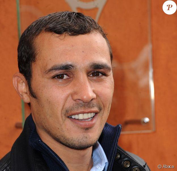 Brahim Asloum pendant Roland-Garros à Paris le 4 juin 2012