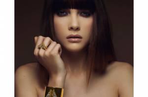 Solweig Lizlow sexy et ténébreuse pour sa première collection de bijoux