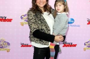 Tiffani Thiessen et Ian Ziering, stars de Beverly Hills, avec leurs princesses