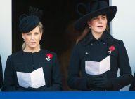 Kate Middleton et Sophie de Wessex recueillies pour le Dimanche du Souvenir 2012