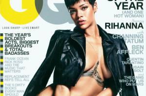Rihanna : Divine et entièrement nue pour GQ, elle s'offre le Stade de France