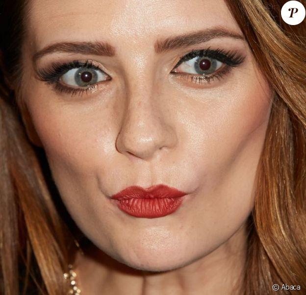 """Mischa Barton, très en beauté lors du lancement de la nouvelle collection de maroquinerie """"Kin"""" du créateur allemand André Borchers. Hambourg, le 13 novembre 2012."""
