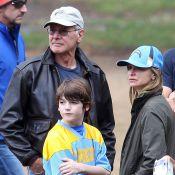 Calista Flockhart et Harrison Ford : Supporteurs et fiers de leur fiston