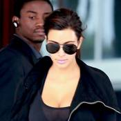 Kim Kardashian : Sportive sexy, elle se prépare pour le nouvel an de Kanye West