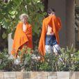 Presley, 13 ans, fils de Cindy Crawford. Il est en vacances avec ses parents et George Clooney au Mexique. Photo prise le 21 novembre 2012.