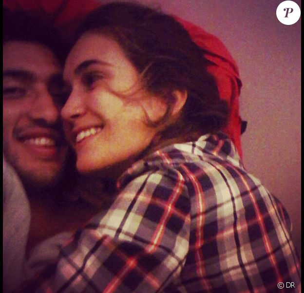 Barbara Morel et Maxime Mermoz, photos issues du compte Twitter de la belle